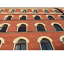 facade of a brick house Photographic Print