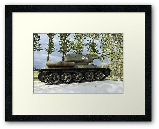 tank T34 by mrivserg