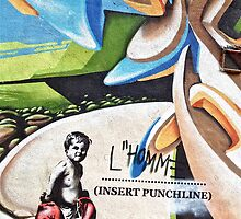 L'Homme- Insert punchline by Tim Constable