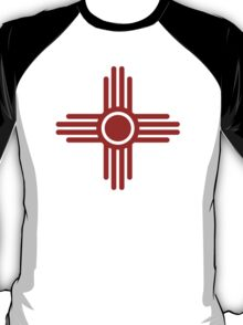 Zia Sun - Zia Pueblo - New Mexico T-Shirt