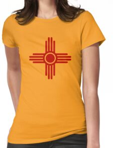 Zia Sun - Zia Pueblo - New Mexico Womens Fitted T-Shirt