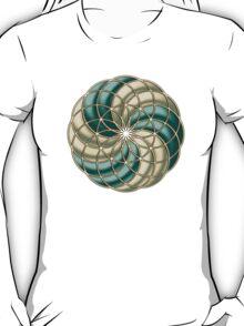SEED OF LIFE, TUBE TORUS, SACRED GEOMETRY T-Shirt