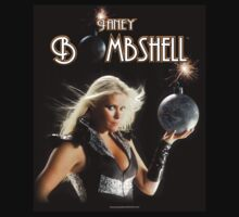 JANEY BOMBSHELL 2014 Tour Shirt 2 by Greg Hart