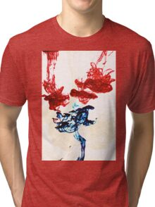 Ink in water Tri-blend T-Shirt