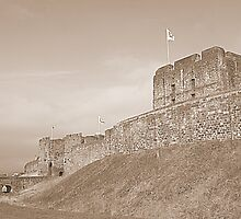 Carlisle Castle by Lou Wilson