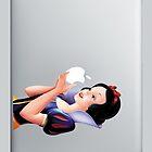 Snow White iPad Case by LeumasBowman
