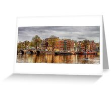 Amstel River Greeting Card