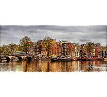 Amstel River Photographic Print