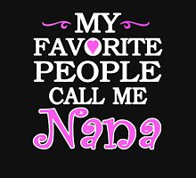 PEOPLE CALL ME NANA Womens Fitted T-Shirt
