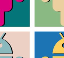 Android Pop Art Sticker