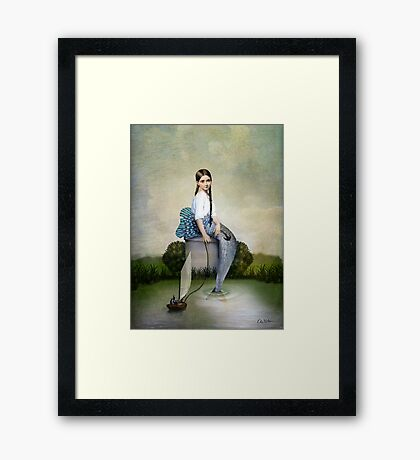Loreley Framed Print