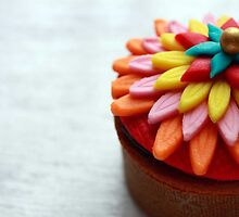 Rainbow Cupcake by Teena Khan