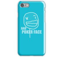 Poker Face iPhone Case/Skin