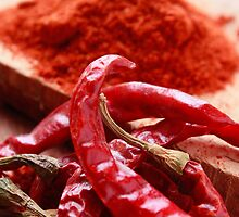 Red Chillies by Teena Khan
