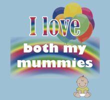 I love both my mummies: lesbian parenting Baby Tee