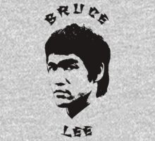 Bruce Lee. Cutout Portrait. by BungleThreads