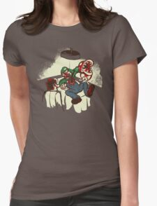 Mario Chestburster Womens Fitted T-Shirt
