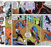 Spiderman Comic Strip by LH-Designs
