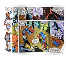 Spiderman Comic Strip Poster