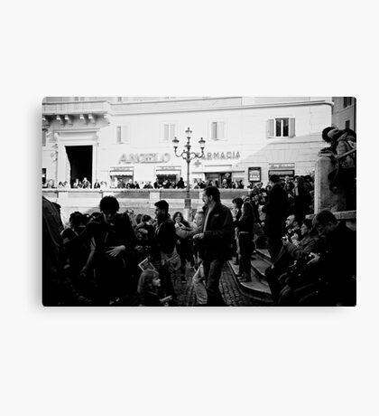 Rome 2010 Canvas Print