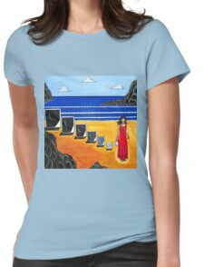 Baggage by Sandra Marie Adams Womens Fitted T-Shirt