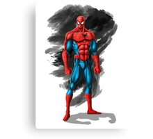 spiderman design t-shirt Canvas Print
