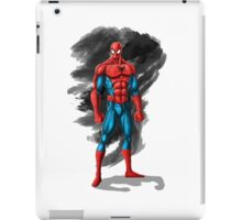 spiderman design t-shirt iPad Case/Skin