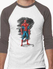 spiderman design t-shirt Men's Baseball ¾ T-Shirt