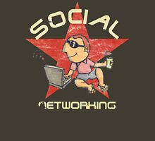 Social Networking - Vintage Unisex T-Shirt