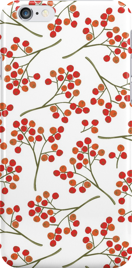 rowanberry on white by demonique