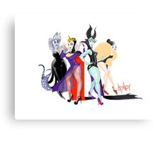 DSNY Diva Collection Villains Metal Print