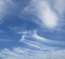 Stripey clouds by Eleanor11