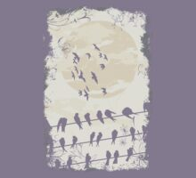 Birds on a Wire by ccorkin