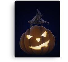 Halloween creepy night Canvas Print