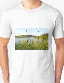 An English Golden Hour Unisex T-Shirt