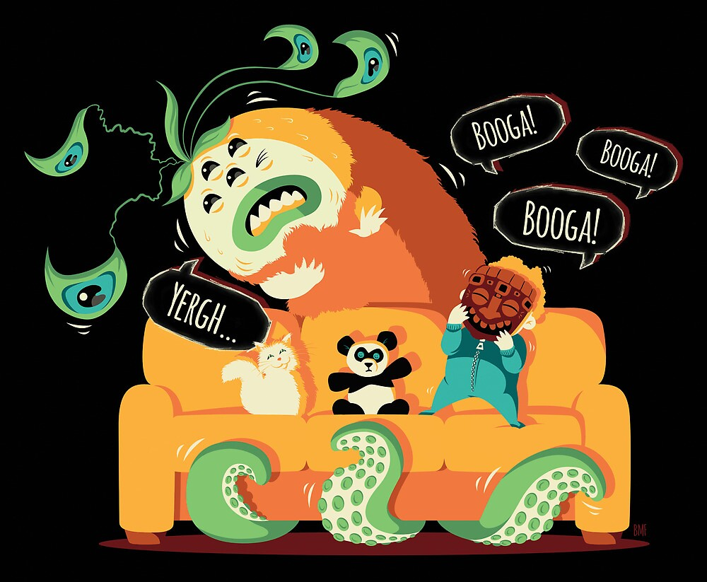Booga, Booga, Booga! by Bert Fanslow