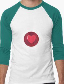 Heart Men's Baseball ¾ T-Shirt