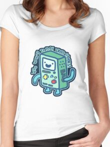 BMO From Adventure Time! Women's Fitted Scoop T-Shirt