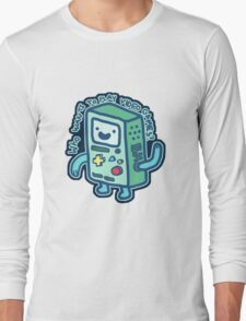 BMO From Adventure Time! Long Sleeve T-Shirt