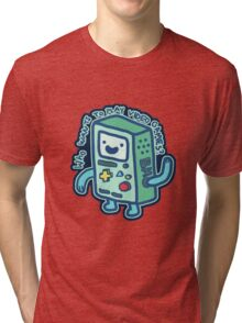 BMO From Adventure Time! Tri-blend T-Shirt