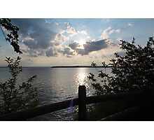 Lake Champlain Photographic Print