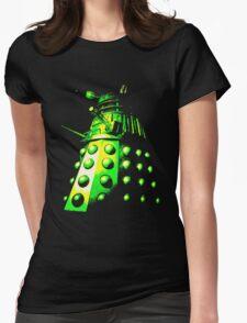 Dalek Gamma – Green/Yellow Womens Fitted T-Shirt
