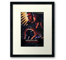 Blade Runner Poster Framed Print