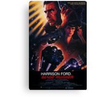 Blade Runner Poster Canvas Print