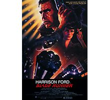 Blade Runner Poster Photographic Print