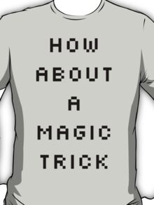 Shaco Champion Select Quote Black Text T-Shirt