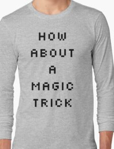 Shaco Champion Select Quote Black Text Long Sleeve T-Shirt