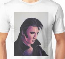 The King Elvis Presley by Suzanne Marie Leclair Unisex T-Shirt