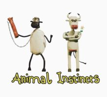 Animal Instincts - Sheep and Cow #1 Kids Clothes