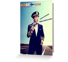 Captain Crieff and Toy Plane Greeting Card